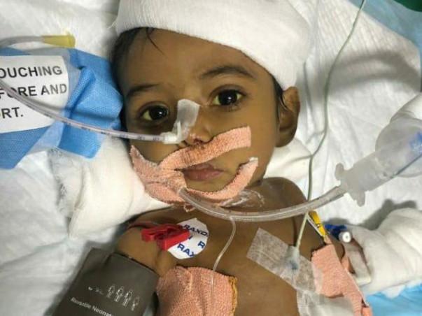 6 months old Piyush Kundu needs your help fight Biliary Atresia