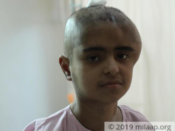 Help Thalassemia Major Girl Janvi Israni