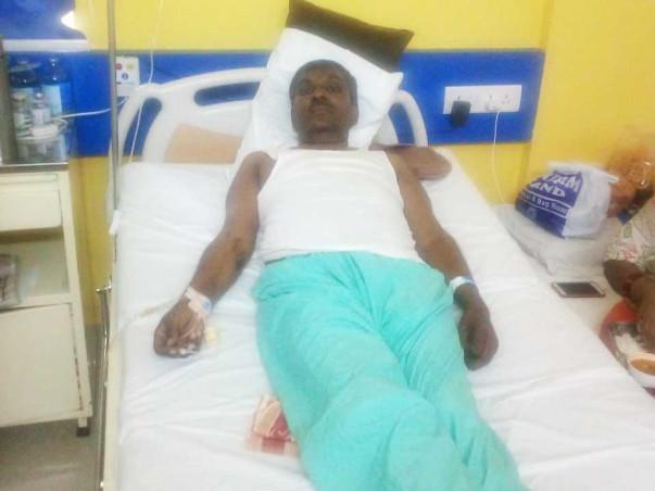 Help my dad overcome intestinal cancer
