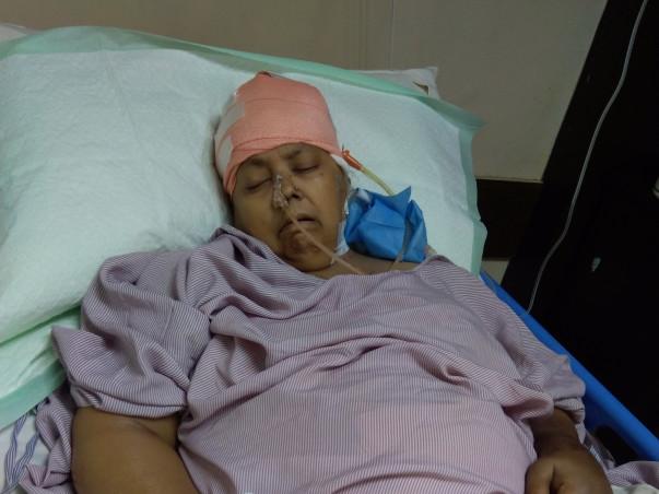 Help My Mother To Fight Brain Hemorrhage