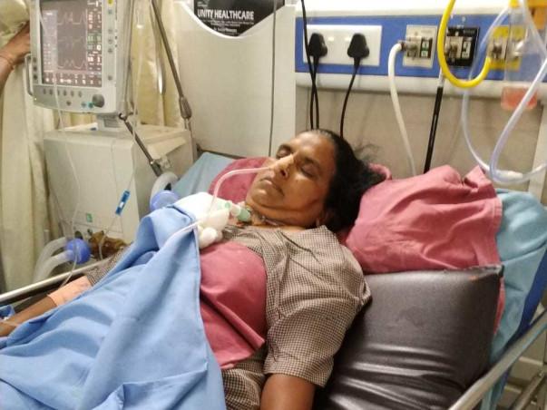 Help My Mother Zulekha Recover From Severe Brain Hemorrhage.