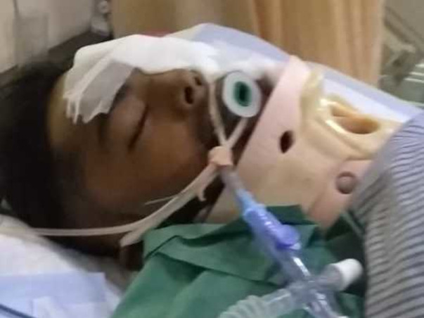 Help 19 Year Old Abhishek Recover From An Accident!