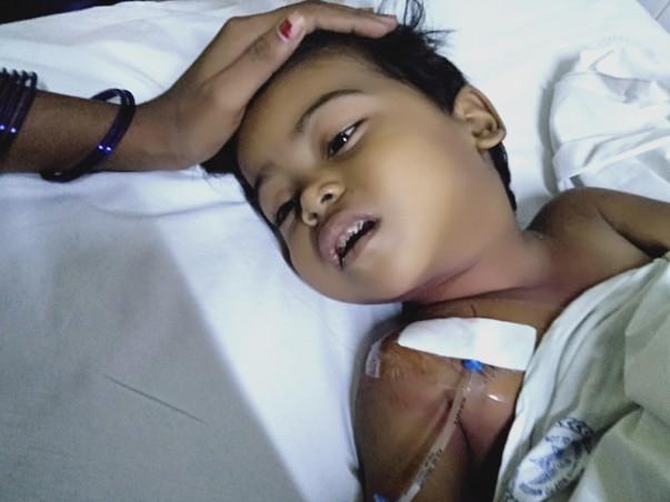 2 Years Old Prachi Kumari Needs Your Help Fight Leukemia Blood cancer