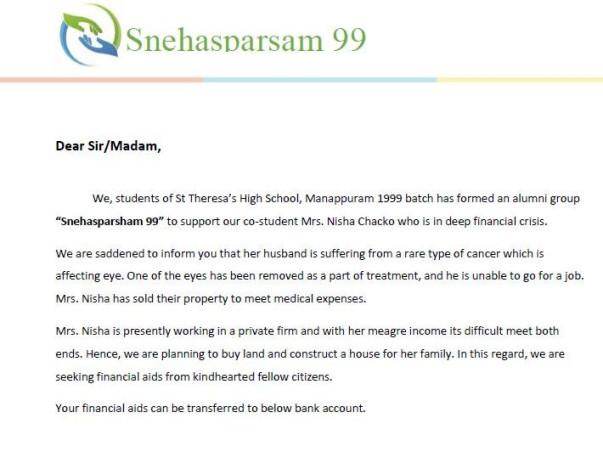 Help Nisha And Her Family