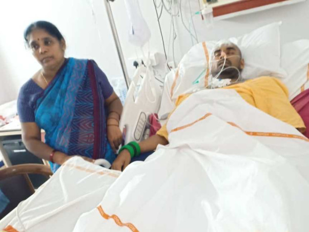 Help Trinath Raju To Recover From A Major Accident