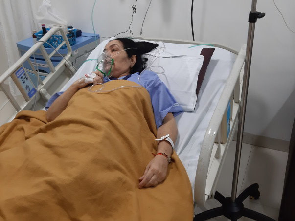 Help Rekha recover from lungs transplant operation