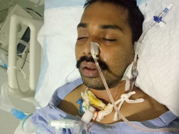 Support Manjunath Recover From Brain Stroke