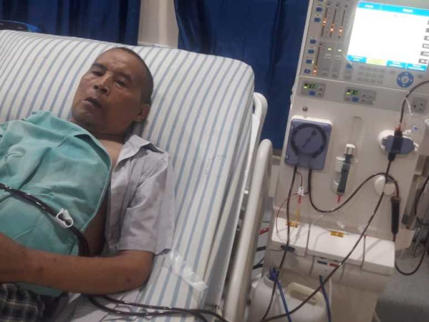 Support My Father In Law T. Piter Recover From Chronic Kidney Disease
