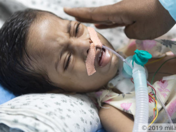 This Baby Wakes Up In A Tangle Of Tubes And Needles Every Day