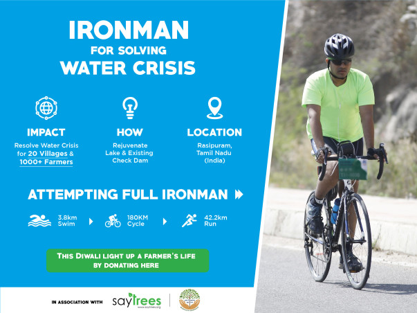 Help us solve the water crisis for 1000+ farmers & 20 villages