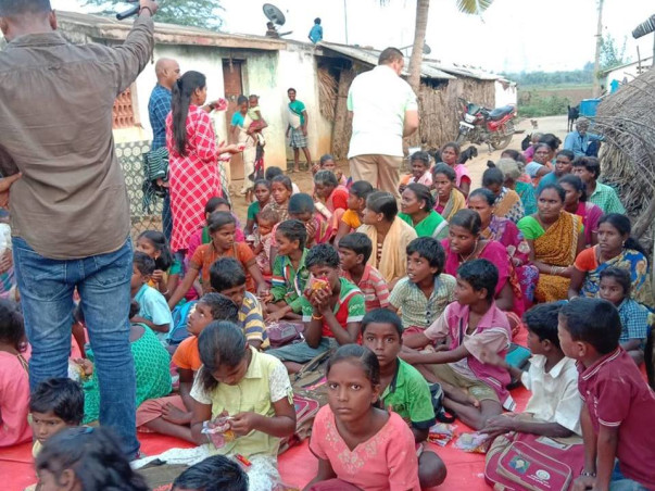 Make Your Festival Meaningful - Help poor Tribal community