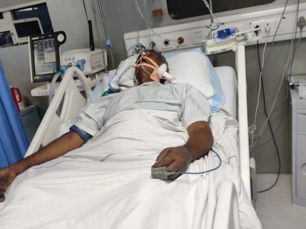 Help Ramanjuneyulu beat Brain Stroke, Paralysis, Dengue and Jaundice