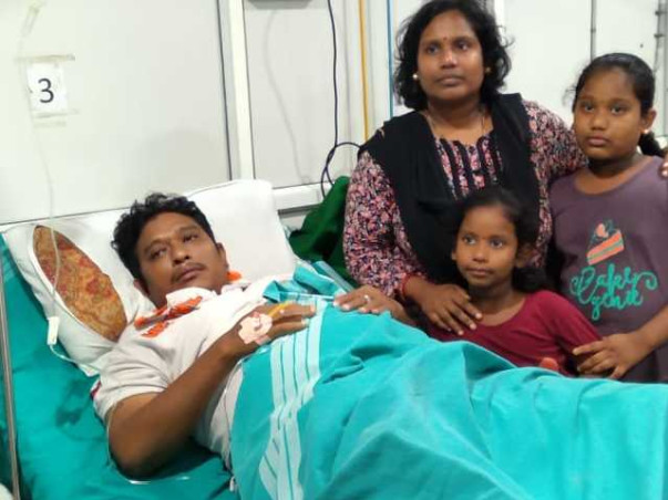 36 Years Old Sreeram Kumar Needs Your Help For Liver Transplant