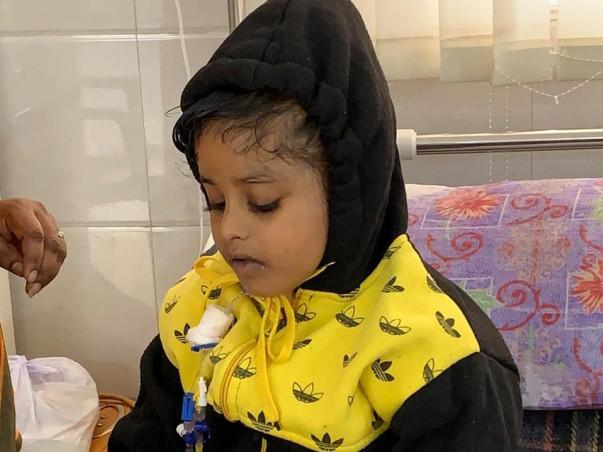 7 years old Lasya needs your help fight Multiple myeloma (bone marrow Cancer)