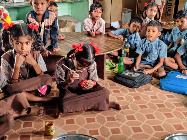 Support To Provide Educational Material And Clothing To Aadivasi Kids