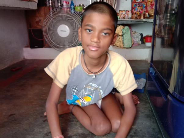 Help Guru Charan recover from cerebral palsy