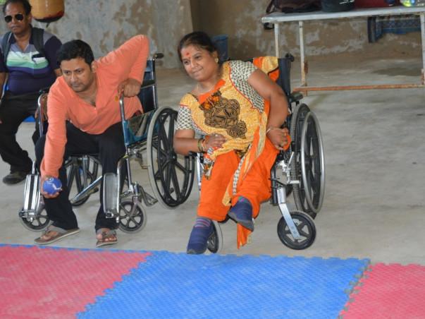 Help Paralympians participate in tournament