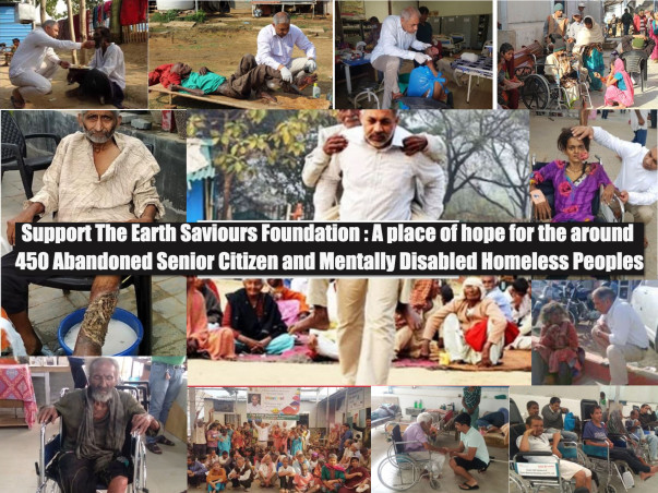 Help Ravi Kalra Take Care Of 500+ Abandoned Parents