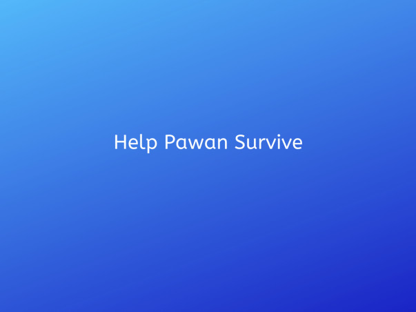 Help Pawan Survive