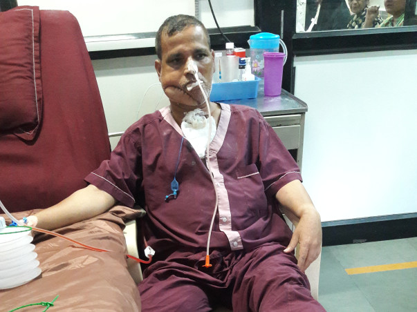 My Father Is Struggling With Oral Cancer, Help Him