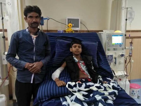 Help Ajay Prajapti Survive