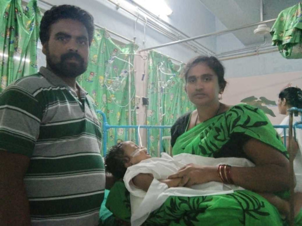 1 Year Old Ganadeep Karri Needs Your Help To Fight Aplastic Anemia