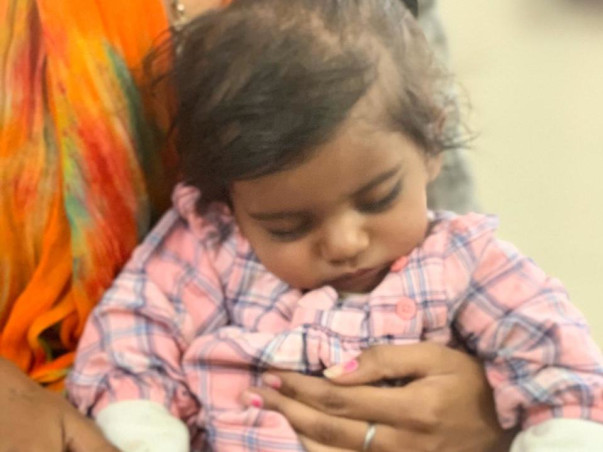 1 Year Old Shivya Needs Your Help To Fight Ventricular Septal Defect