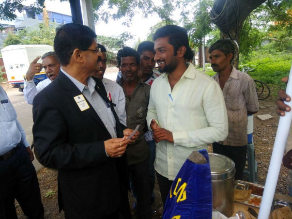 Serve Food for Needy, Poor, Homeless People
