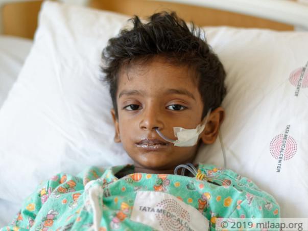 5 Years Old Aditya Srivastav  Needs Your Help Fight Leukemia