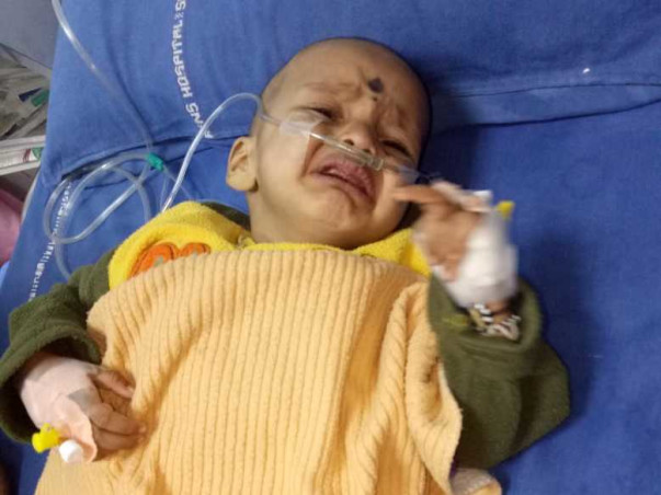 10 Months Old Aditya Needs Your Help Fight Anomalous Left Coronary Artery From The Pulmonary Artery