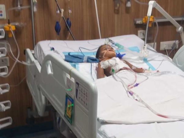 2 Years Old Trisha Needs Your Help Fight Coronary Artery Disease