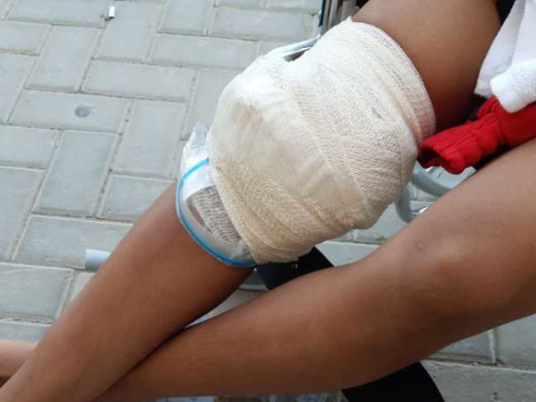 Support Surbala Recover From Anterior Cruciate Ligament And The Medial Collateral Ligament