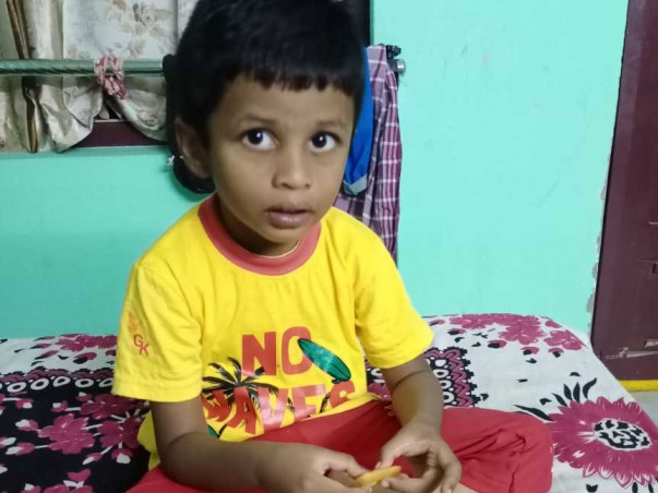 3 Years Old Joshua Gideon Thokala Needs Your Help To Recover From Cognitive Problem