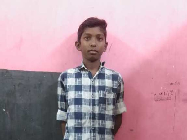 13 years old Sham needs your help fight bone cancer