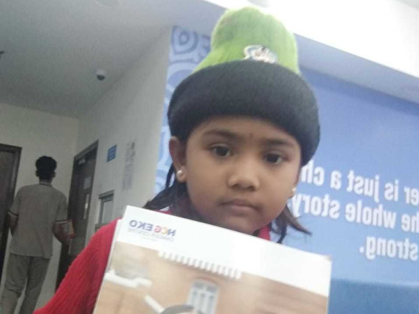 Support Antara Das Recover From Thalassemia