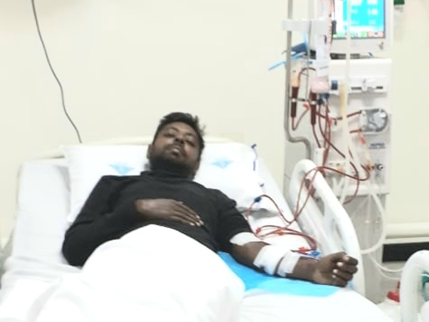 Anand needs your urgent support in fighting Chronic Kidney Disease-L5