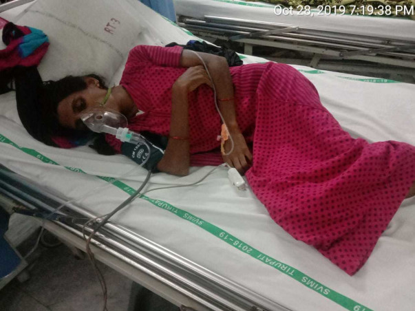 Please Help Naziya to get out of  Cancer