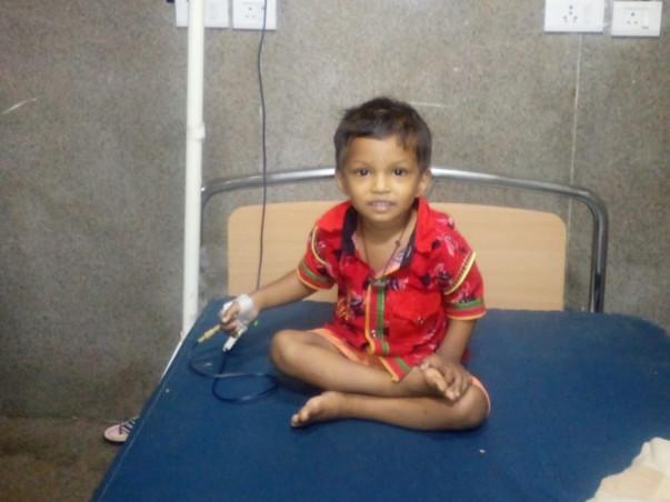 Help Baby Bandhan Fight Thalassemia Major