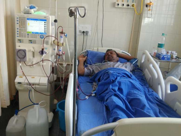 Help Nagaraja Recover From Renal Failure And Type 2 Diabetes