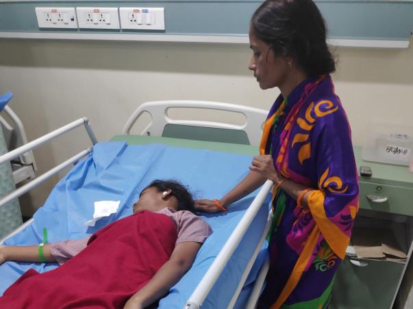 Help Vaishnavi Bear Hospital Expenses