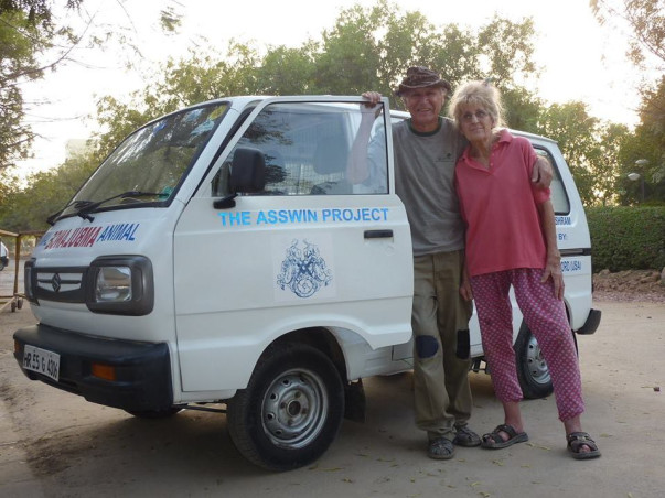 Support Jean & Bob's cause of helping India's equines