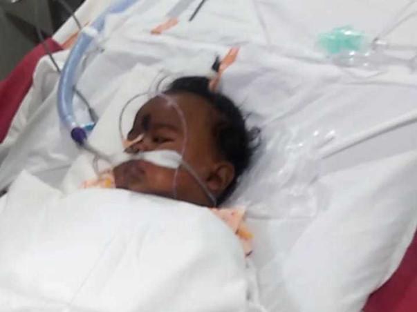 6 Months Old Ramiya Shri Needs Your Help Fight Febrile Seizure, Respiratory Failure & Metabolic Acidosis