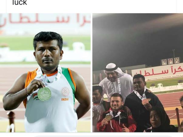 Help Me Paricipate In FAZZA International Athletic Championship Dubai