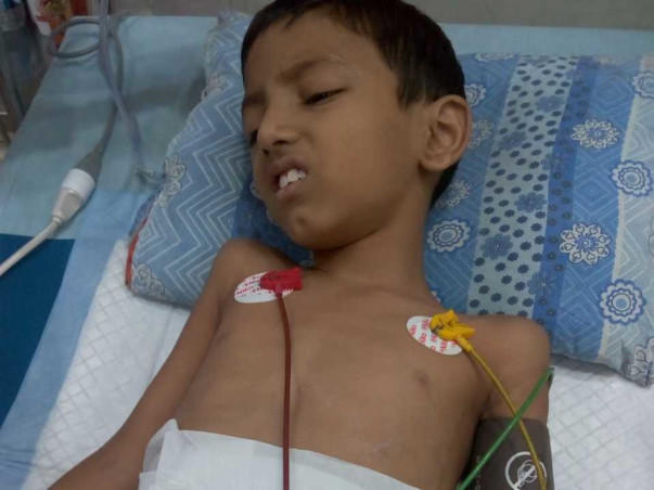 7 Years Old Abhijeet Needs Your Help To Fight Heart Blockage