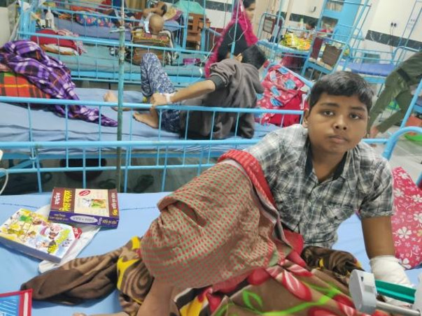 Help Subrata To Fight Blood Cancer