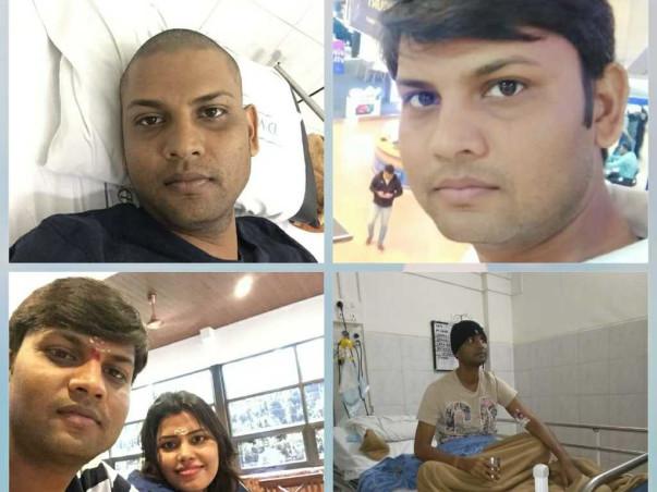 Help Vinod Singh Patel Recover From Leukemia