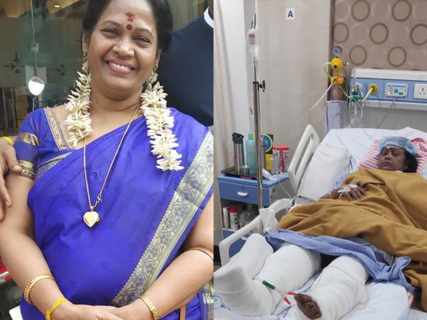 Help Rakesh's mother, Valliammal walk again