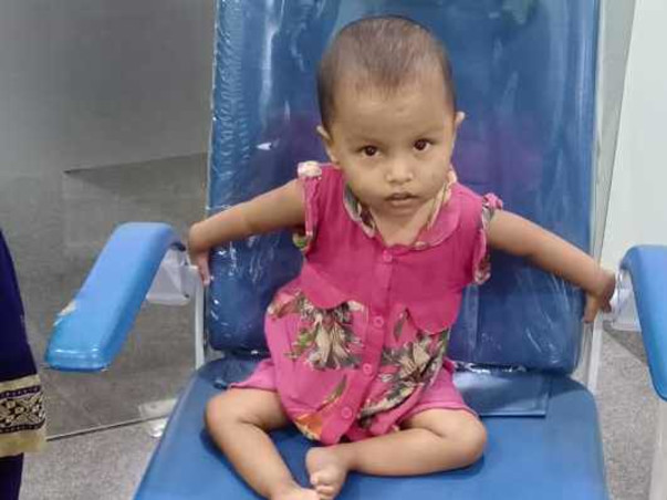 2 Years Old Raisa Akhtar Needs Your Help Fight Cochlear Implant