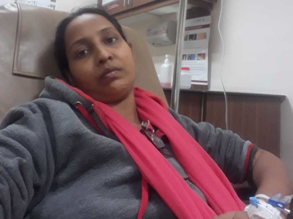 Support Shivani Rout Fight From Lung Cancer