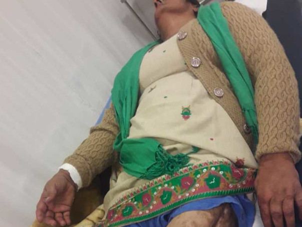 Support Harjeet Kaur Recover From Leg Infection